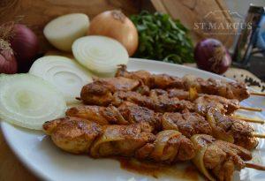 Chicken Onion Sosaties