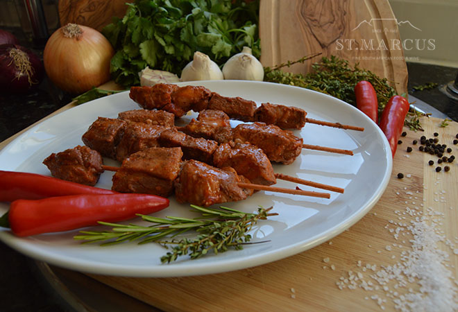 Pork Peri-Peri Sosaties