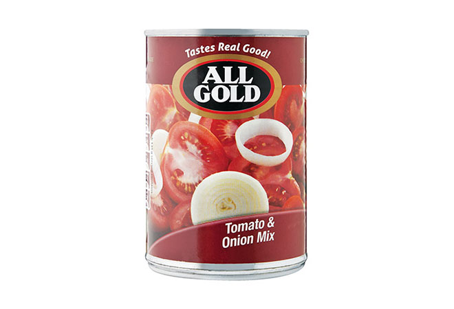 All Gold Tinned Tomato & Onion Mix