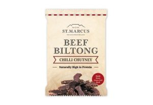 Chilli Chutney Beef Biltong Snack Pack