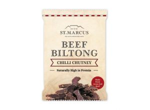 Chilli Chutney Beef Biltong Snack Pack