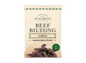 Garlic Beef Biltong Snack Pack