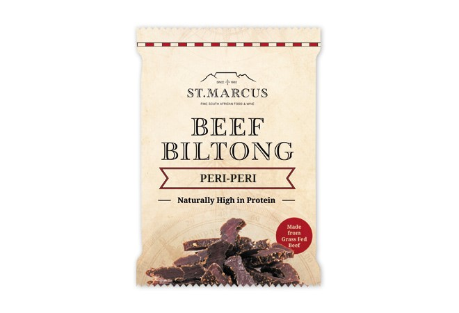 Peri-Peri Beef Biltong Snack Pack