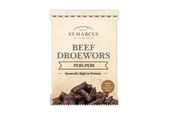 Peri-Peri Beef Droëwors Snack Pack