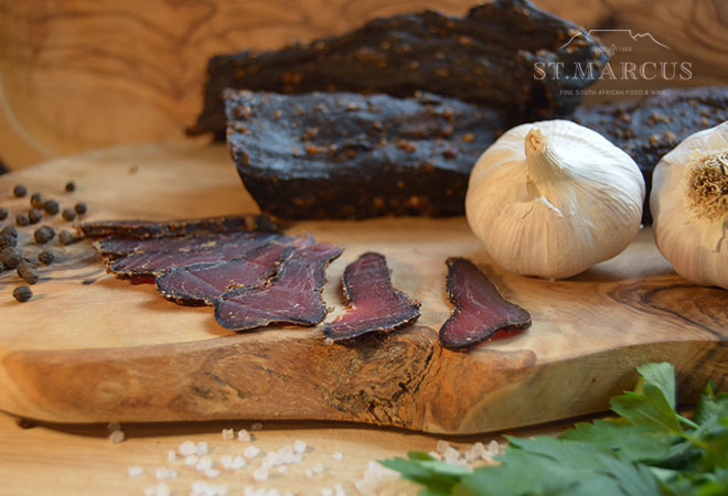 Delicate Garlic Beef Biltong