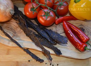 Sweet & Spicy Chilli-Chutney Beef Stokkies