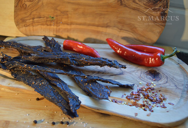 Fiery Chilli Beef Stokkies