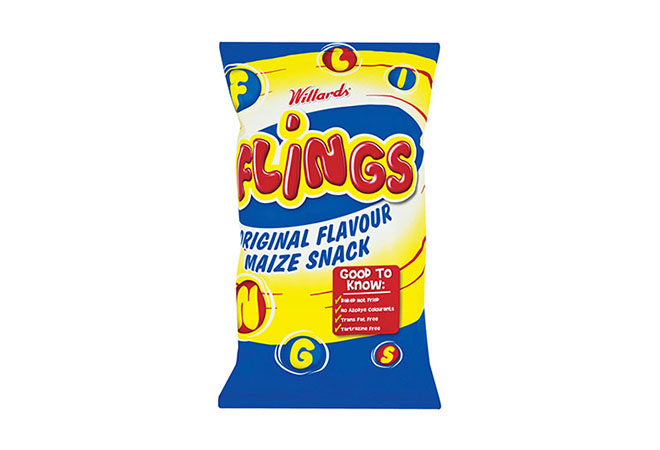Willards Flings Crisps