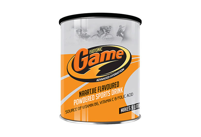 Game Isotonic Naartjie Sports Drink