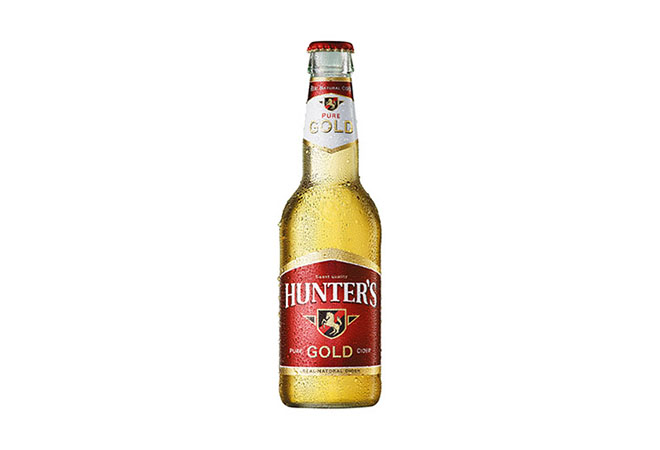 Hunter's Bottled Cider