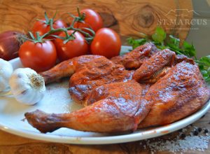 Peri-Peri Whole Chicken Flattie