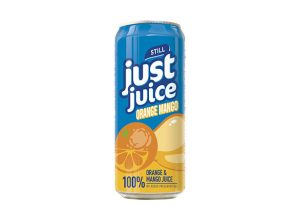 Just Juice Canned Drinks