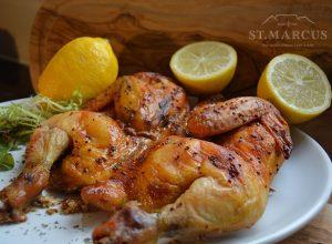 Lemon Herb Whole Chicken Flattie