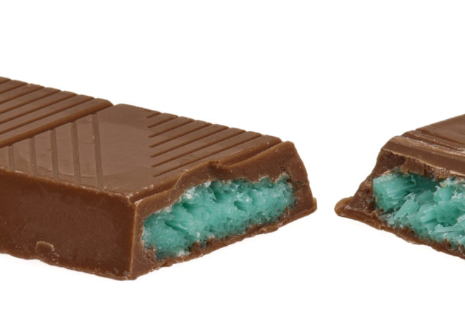 Peppermint Crisp Chocolate