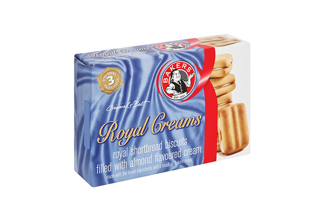 Bakers Royal Creams Biscuits