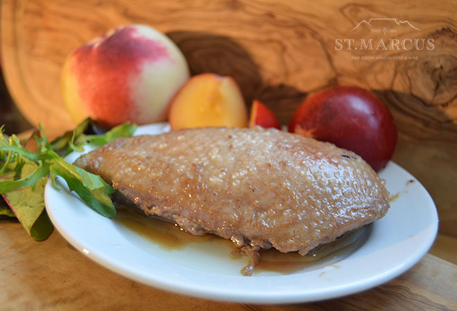 Spicy Plum Duck Breast