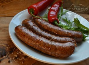 Spicy Pork Sausages