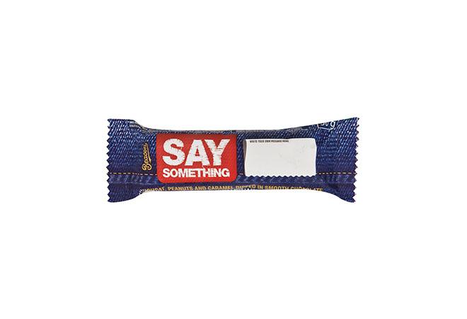 Beacon Say Something Chocolate Bar