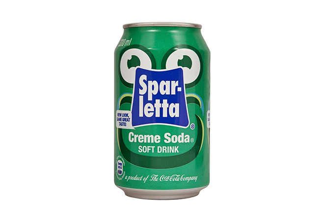 Sparletta Creme Soda Canned Drinks