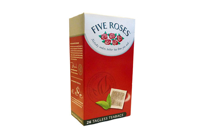 Five Roses Teabags