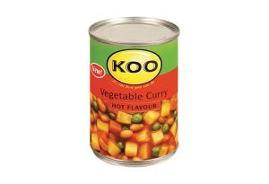 Koo Hot Vegetable Curry