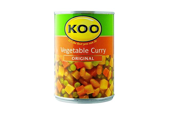 Koo Original Vegetable Curry