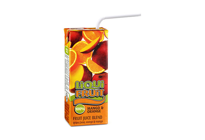 Liqui Fruit Juice Box Mango & Orange