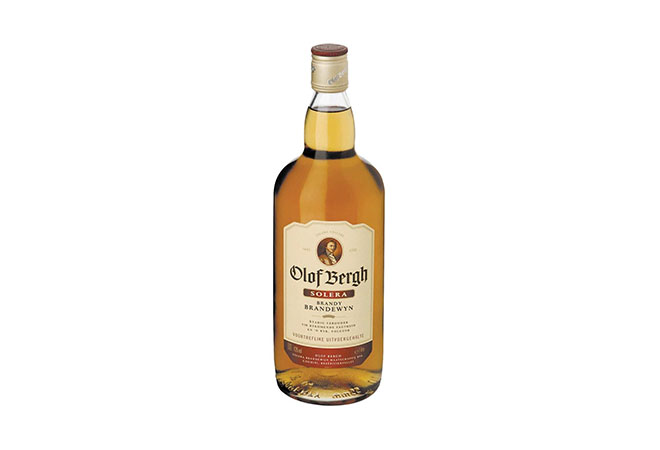 Olof Bergh Solera Brandy