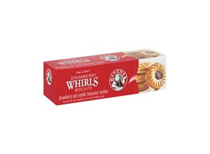 Bakers Strawberry Whirls Biscuits