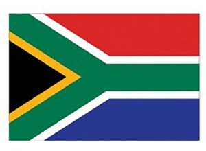South African Flag Temporary Tattoos