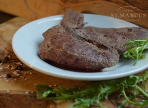 Exotic Venison Steak