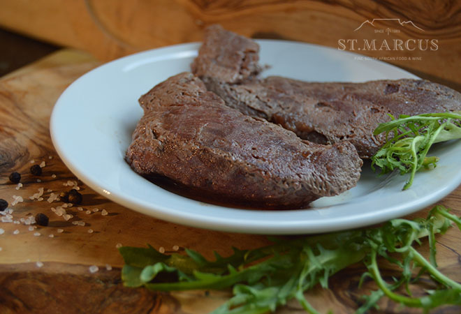 Exotic Venison Steak