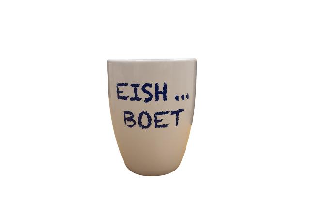 Eish Boet mug