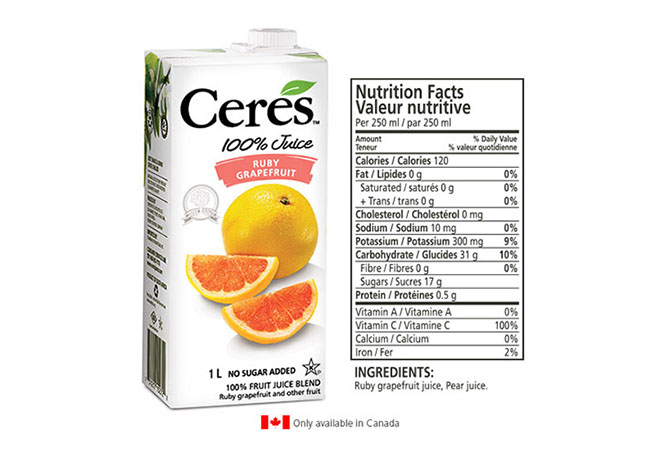 Ceres Juices