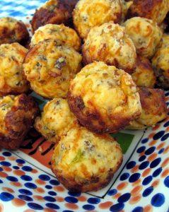 Buttery Biltong & Cheese Scones