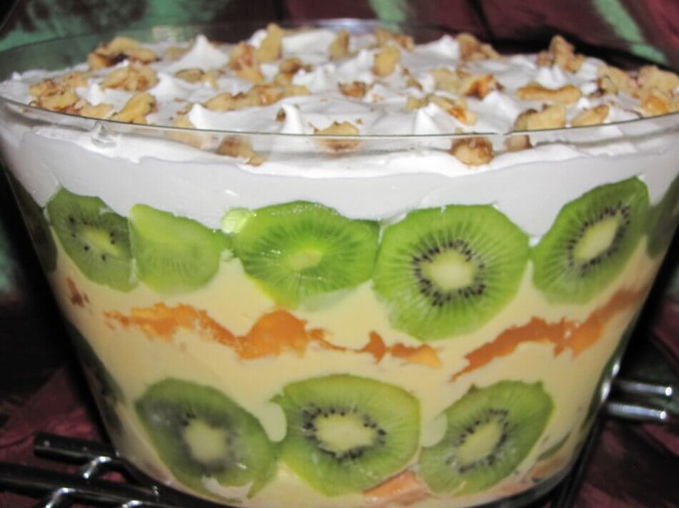 Indulgent Christmas Trifle