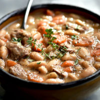 Beef and Bean Soup
