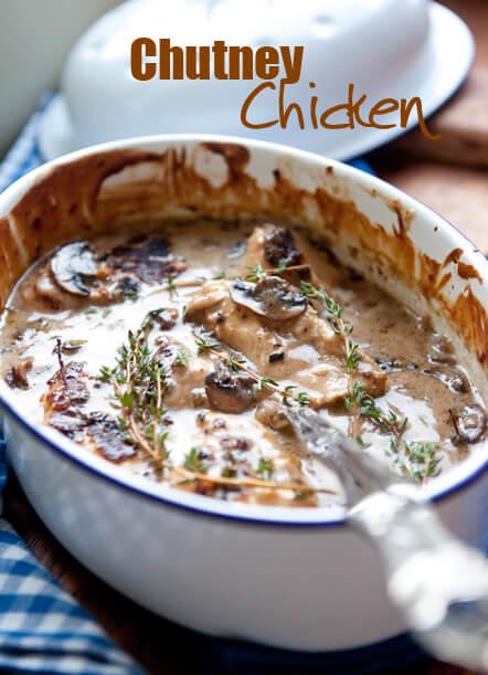 South African Chutney Chicken