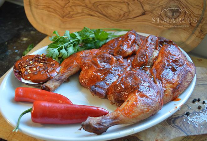 Chilli BBQ Whole Chicken Flattie