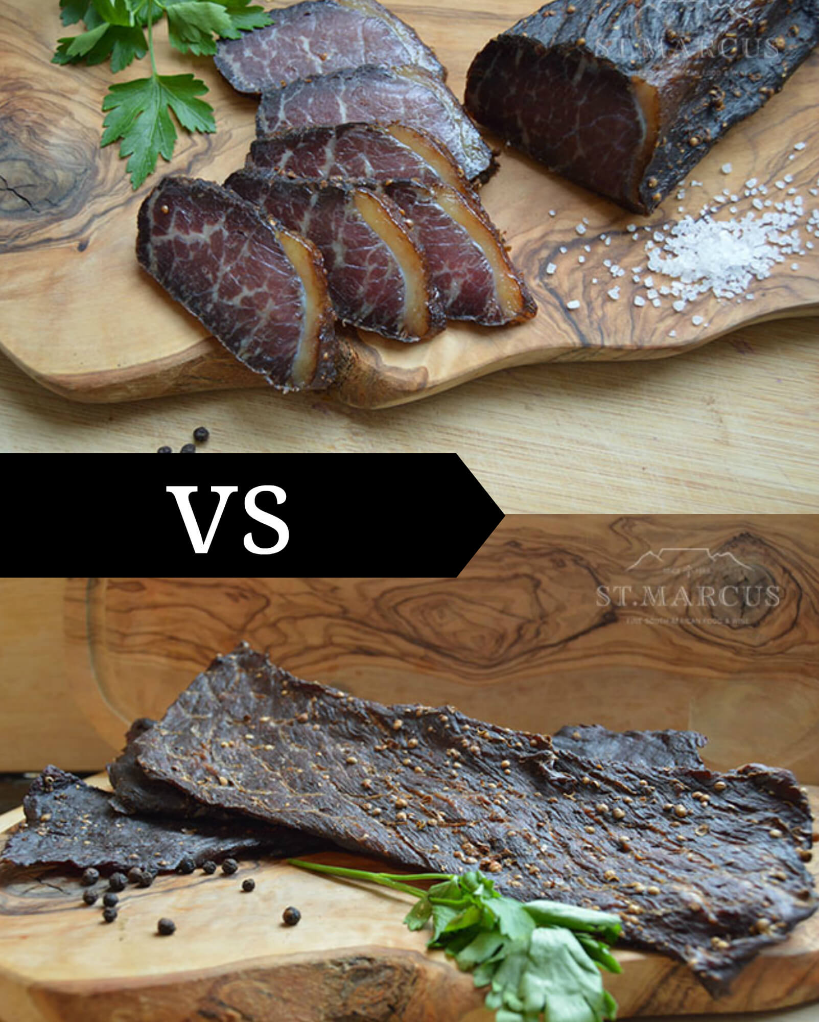 What's the Difference Between Biltong and Jerky?