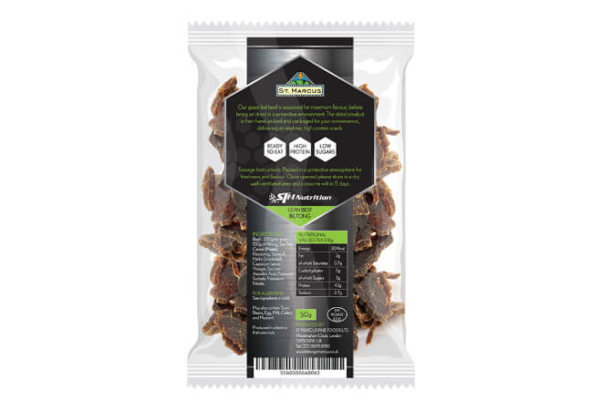 Grass Fed Lean Beef Biltong