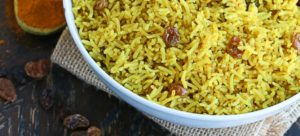Frangrant South African Yellow rice