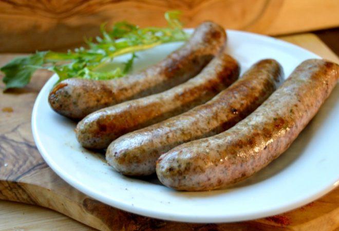 Turkey Tarragon Sausages