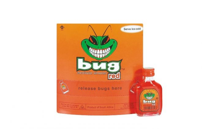 Bug Alcoholic Shooters
