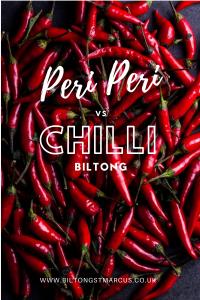 Peri Peri vs Chilli