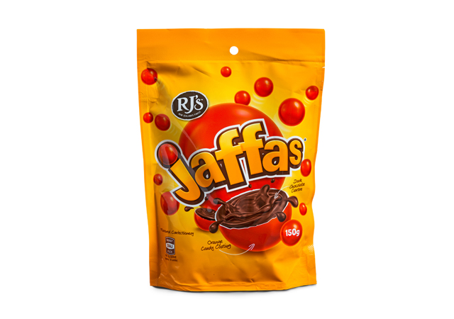 Rich results on google SERP when searching for RJS Jaffas
