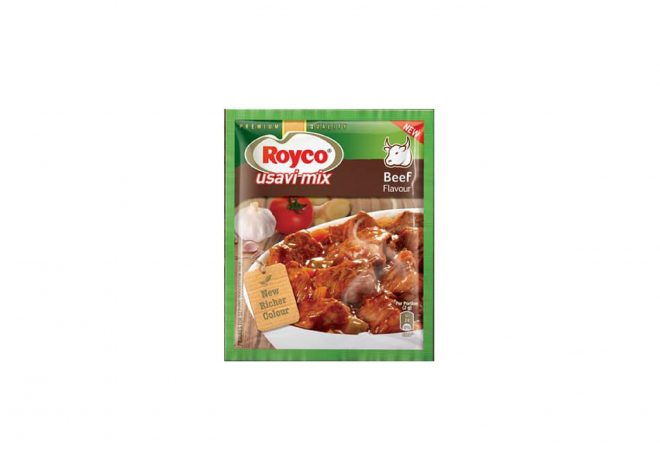 Beef flavour usavi mix- enhances flavour and thickens stews, casseroles and curries.