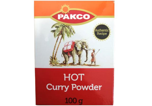 curry powder hot