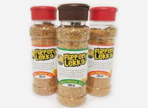 three bottles of flippen lekker spice